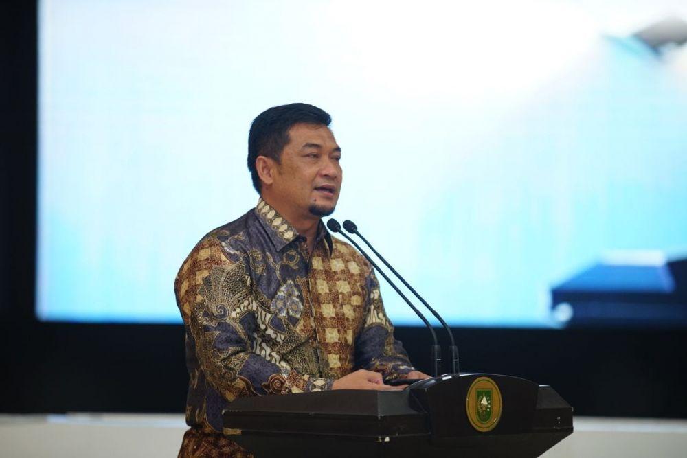 Dukung Ranperda Wilayah Pesisir Riau,  Pj Bupati Bengkalis Usulkan Zona Tambahan