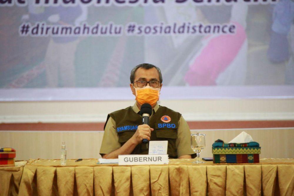 Dumai dan Bengkalis Usulkan PSBB, Gubri Segera Usulkan ke Kemenkes