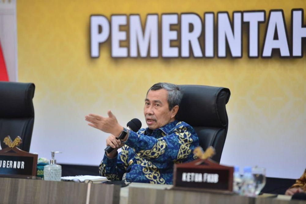 Ekspor Riau Alami Kenaikan Hingga 47 Persen, Gubri : Non Migas Jadi Andalan Riau