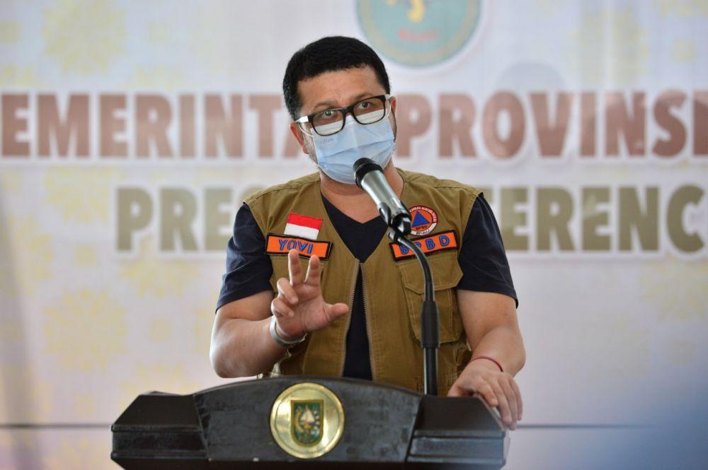 Enam Kabupaten di Riau Terpaksa Dikirim Pasien Covid-19 ke Pekanbaru