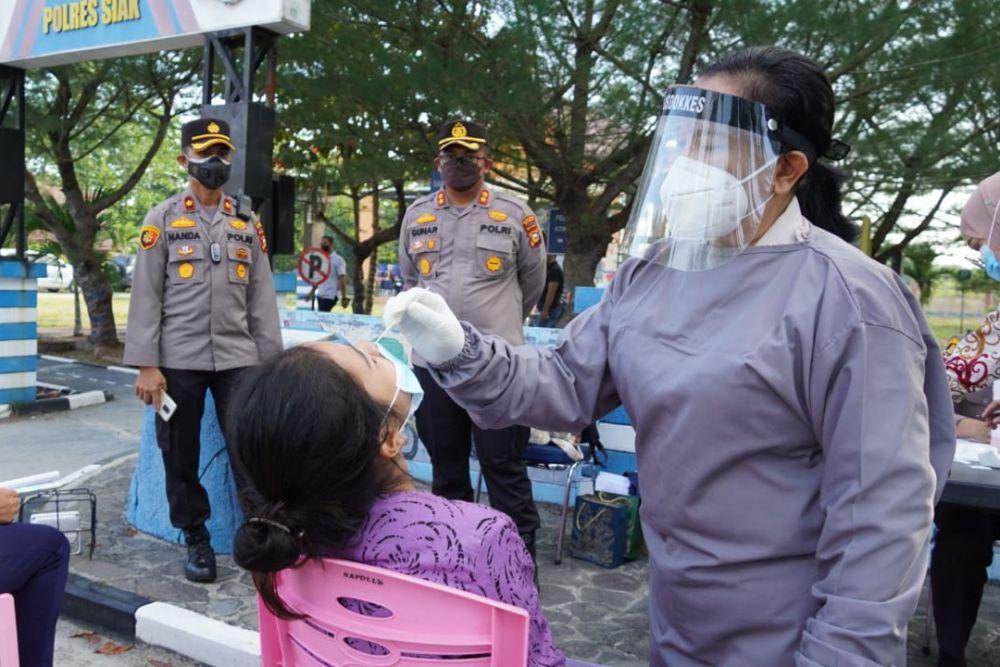 Gelar Rapid Test Massal, AKBP Gunar : Semua Upaya Kita Lakukan