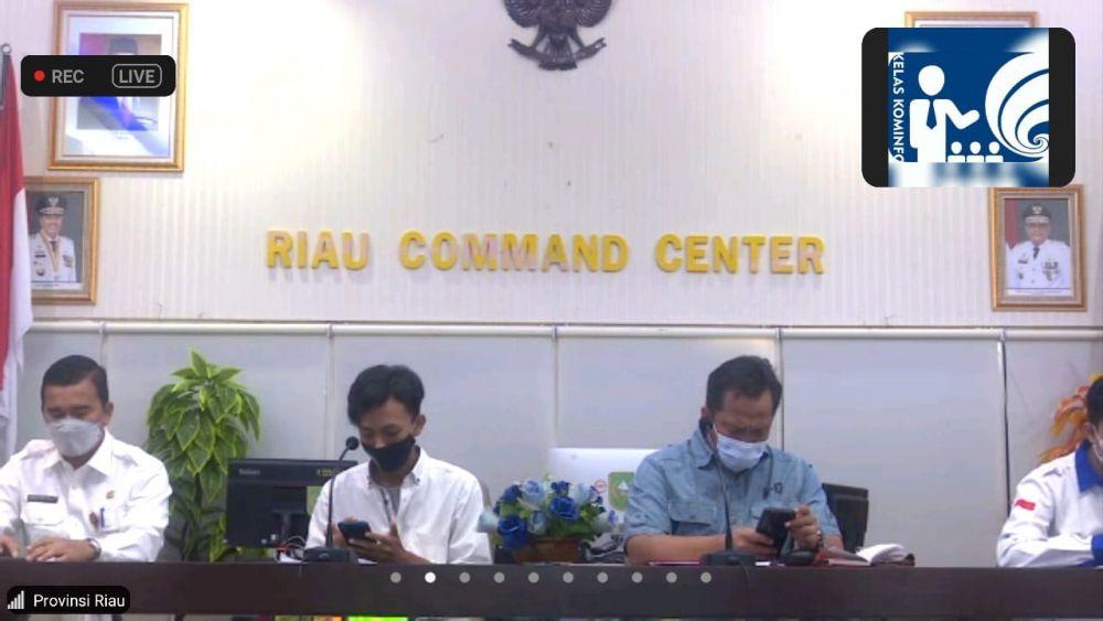 Gelar Webinar Narkoba Masa Pandemi, Kadispora Riau Harap Generasi Muda Tumbuh Tanpa Narkoba
