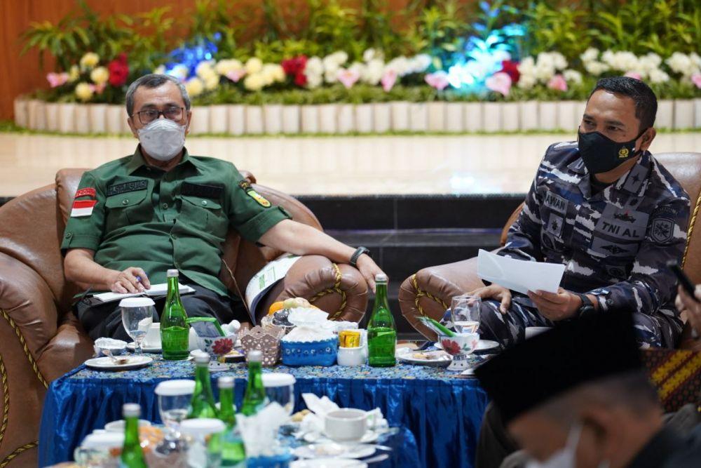 Gubernur Riau Gelar Pertemuan Bersama Forkopimda di Dumai, Ini isi pembahasannya