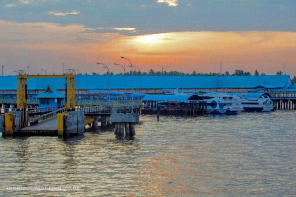 Gubernur Riau Harap Pertamina Hibahkan Tanah untuk Pelabuhan Roro Dumai-Melaka