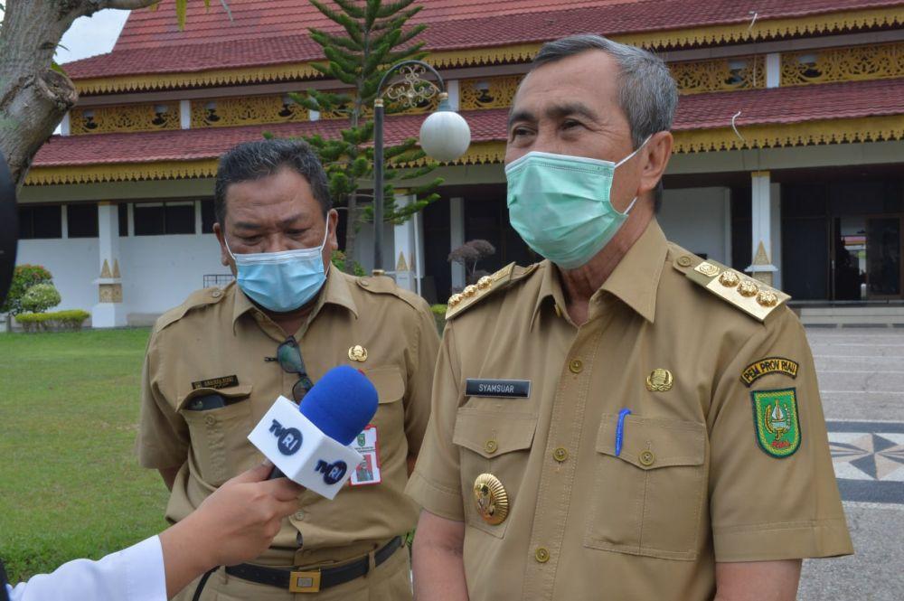 Gubernur Riau: Jangan Ada Lagi Warga Riau Tersangkut Hukum Akibat Kasus Karhutla