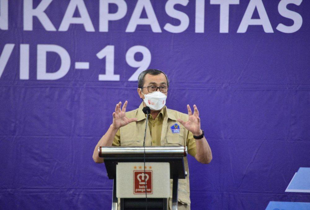 Gubernur Riau minta BUMD Kerja Keras Tingkatkan Kinerja Kejar PAD