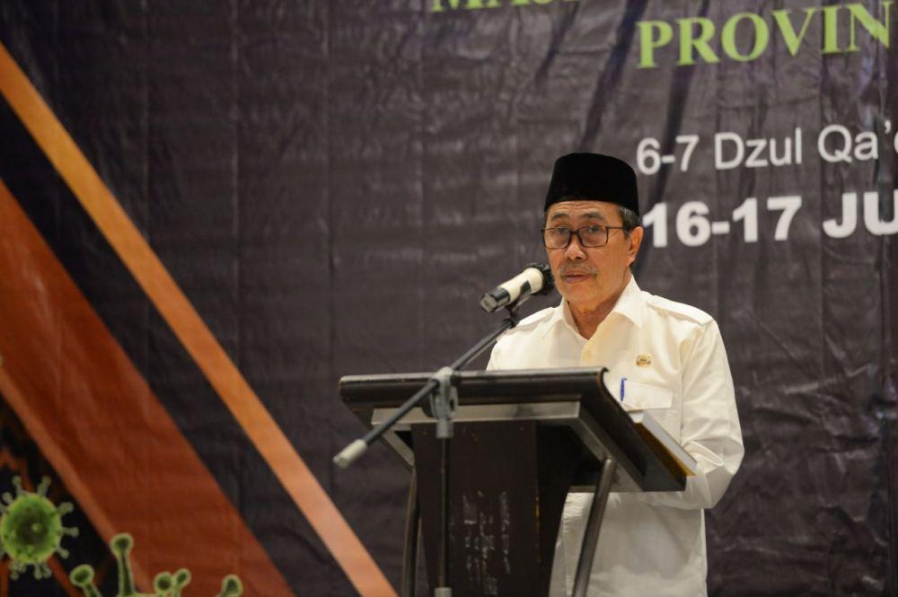 Gubernur Riau Minta Dukungan Ulama Tekan Kasus Covid-19 di Riau