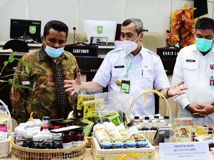 Gubernur Riau Promosikan Produk Masyarakat Melalui Medsos, Disambut Baik oleh Warganet