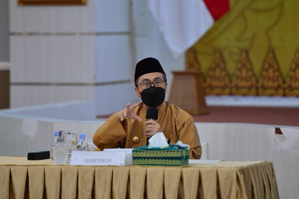 Gubernur Riau Usulkan Penambahan Pintu dan Feeder pada Empat Proyek Jalan Tol