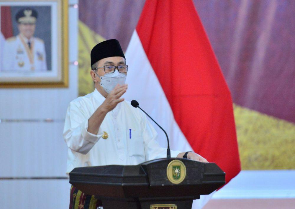 Gubri Ajak Masyarakat Disiplin Prokes untuk Bantu Turunkan Level PPKM di Pekanbaru