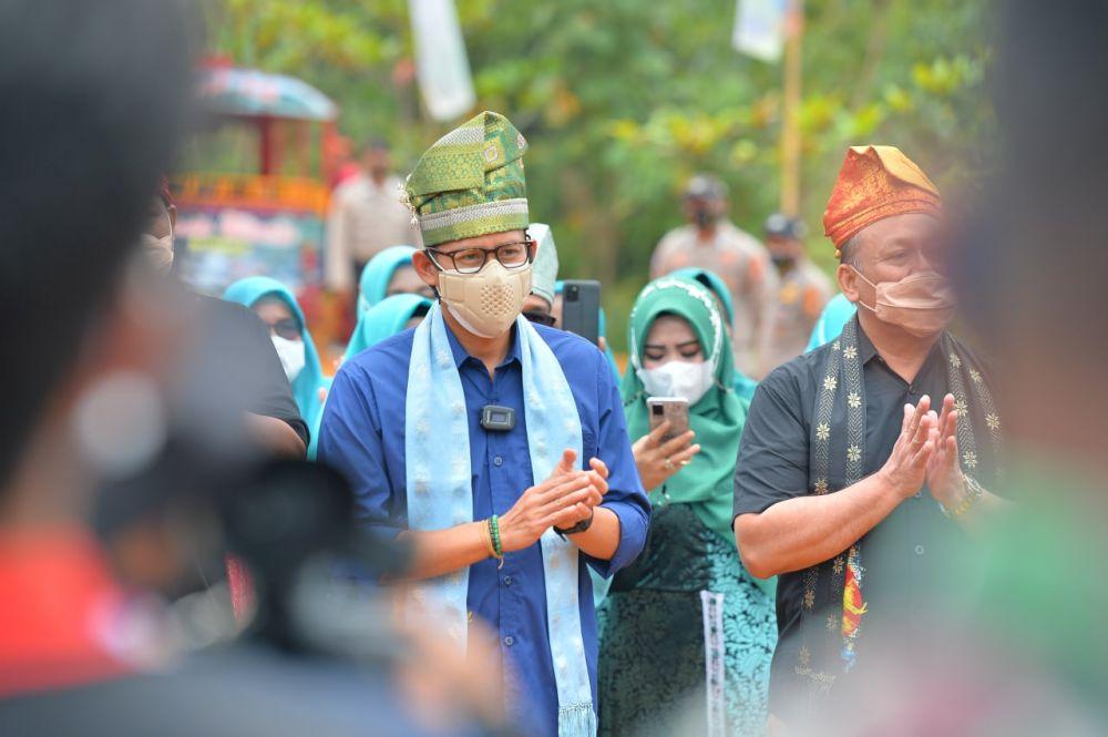 Gubri ajak Menparekraf Keliling Kelokasi Wisata Riau