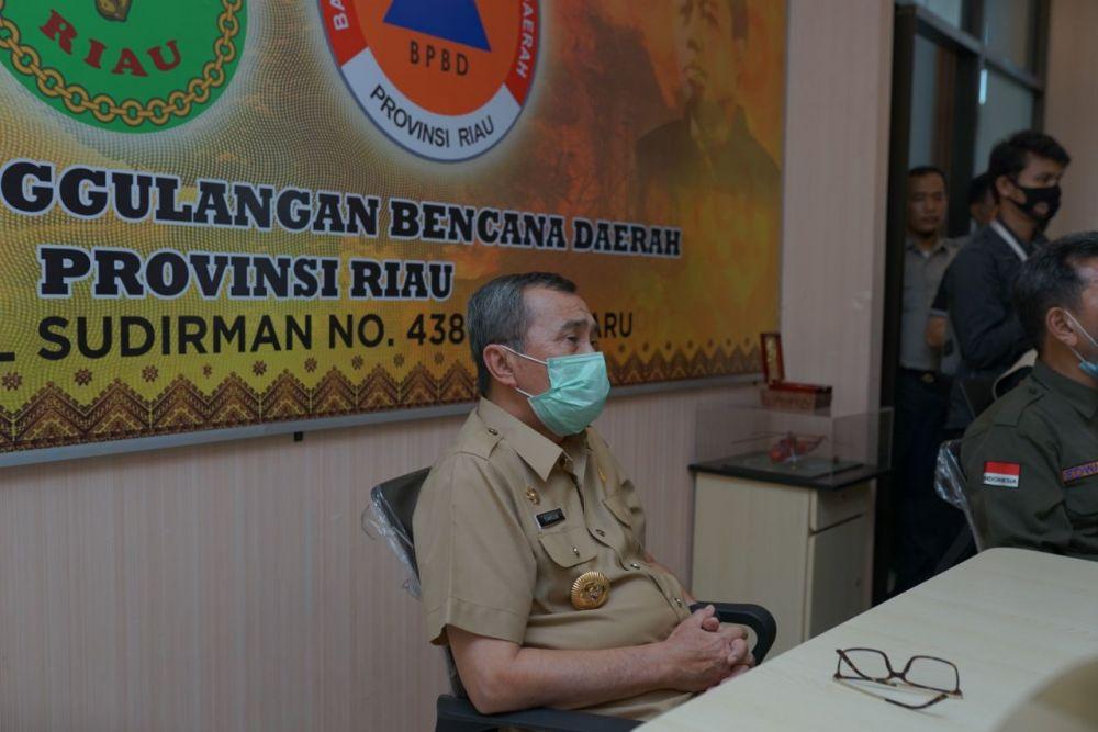 Gubri Berharap Riau Bisa Mengendalikan Karhutla dan Covid-19