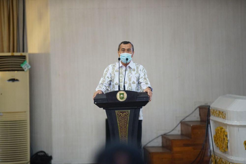 Gubri Buka Secara Resmi Kongres DPP IKAPTK Provinsi Riau Tahun 2020