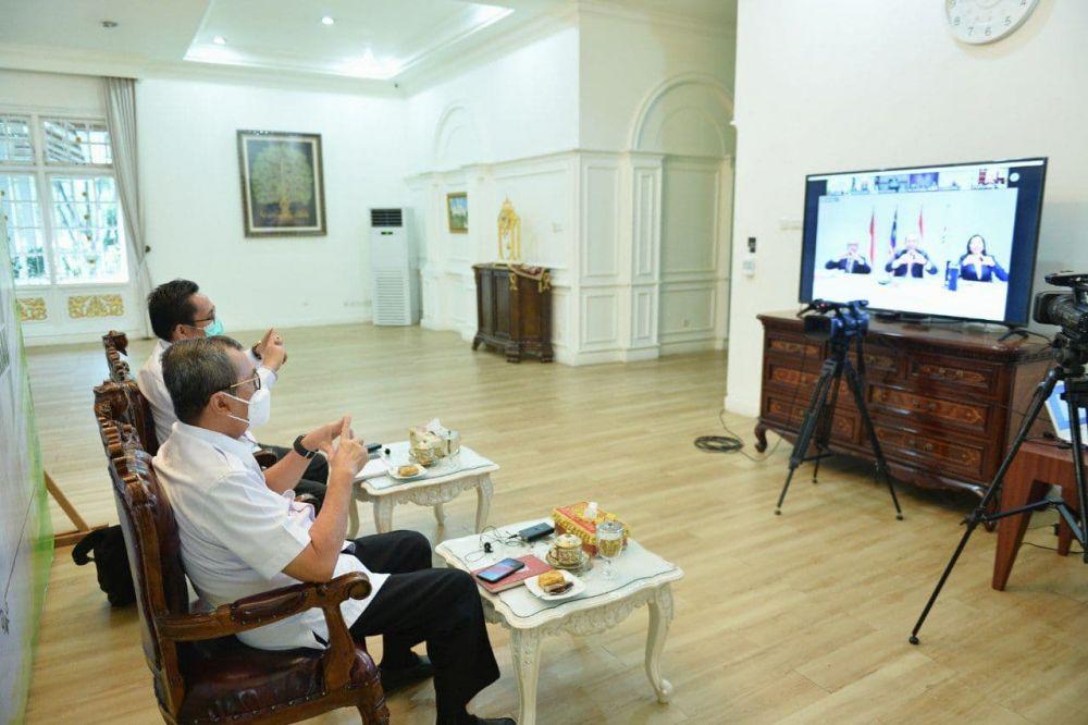 Gubri Hadiri Pertemuan CMGF ke-17 Tahun 2020 Secara Virtual