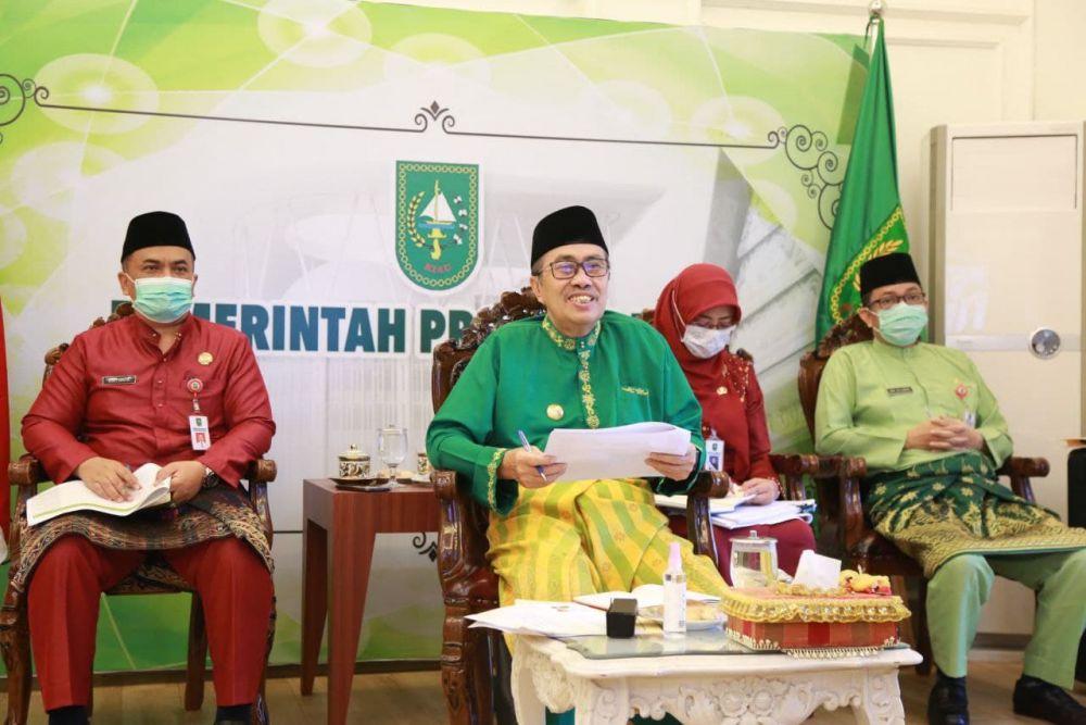 Gubri Hadiri Pertemuan Dengan Deputi Pencegahan KPK Perihal Kebijakan Satu Peta