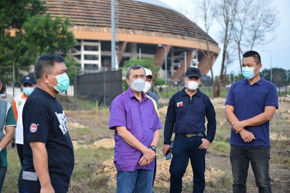 Gubri Harap Kawasan Stadion Utama Riau Jadi Taman Agro Wisata