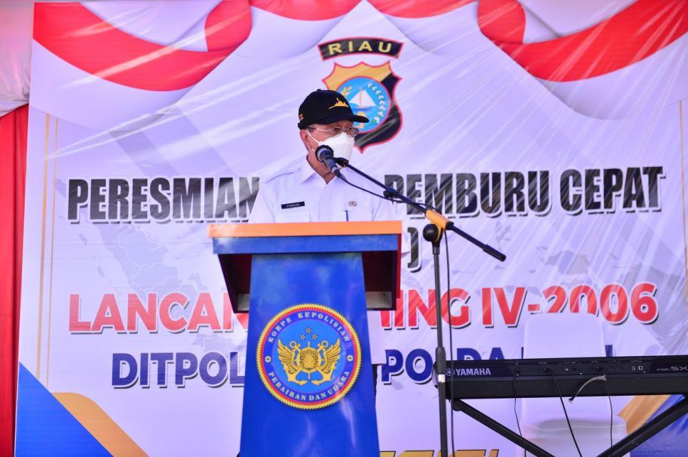 Gubri Harap KPC Dapat Antisipasi Kejahatan di Perairan Riau