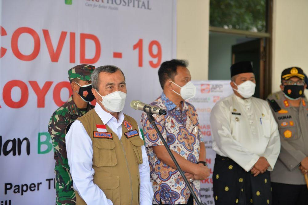 Gubri : Harap Perusahaan yang Ada di Riau Dapat Membantu Penanganan Covid-19