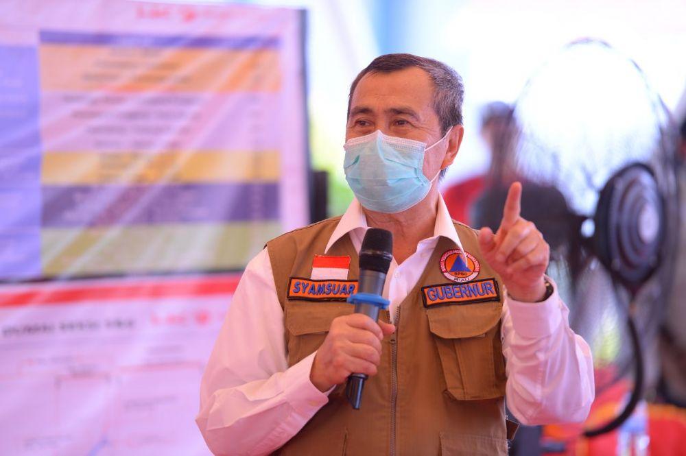Gubri Kirim Surat ke DPRD Inhu Gelar Paripurna Penetapan Bupati dan Wakil Bupati Terpilih
