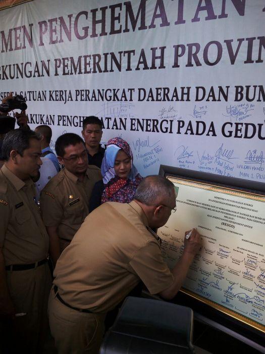 Gubri Launching Penghematan Energi dan air