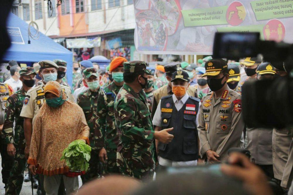 Gubri: Panglima TNI dan Kapolri Apresiasi Kinerja Riau tangani Covid-19