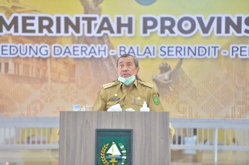 Gubri Paparkan Kondisi Riau Saat Ini Kepada Menteri PPN/Bappenas