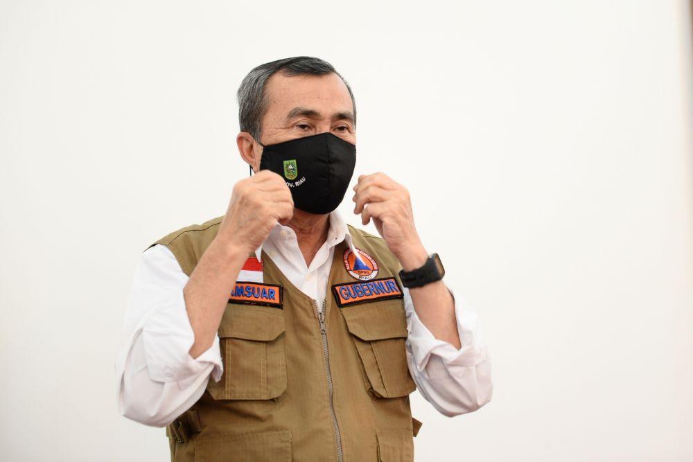 Gubernur Riau : Pelayanan COVID-19 di Puskesmas Gratis