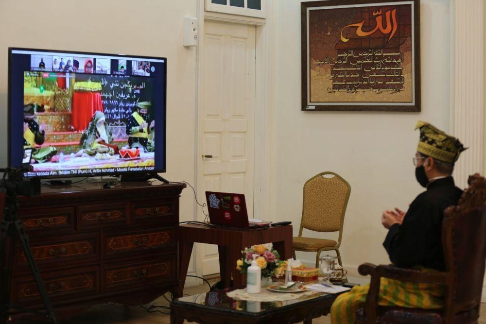 Gubri Sebut Alm Arifin Achmad Figur Yang Gagah dan Disiplin