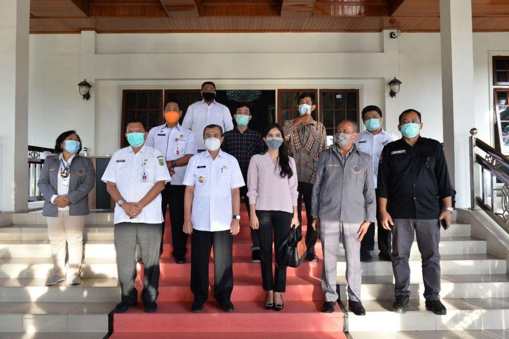 Gubri Terima Audiensi Konfederasi Serikat Buruh Seluruh Indonesia