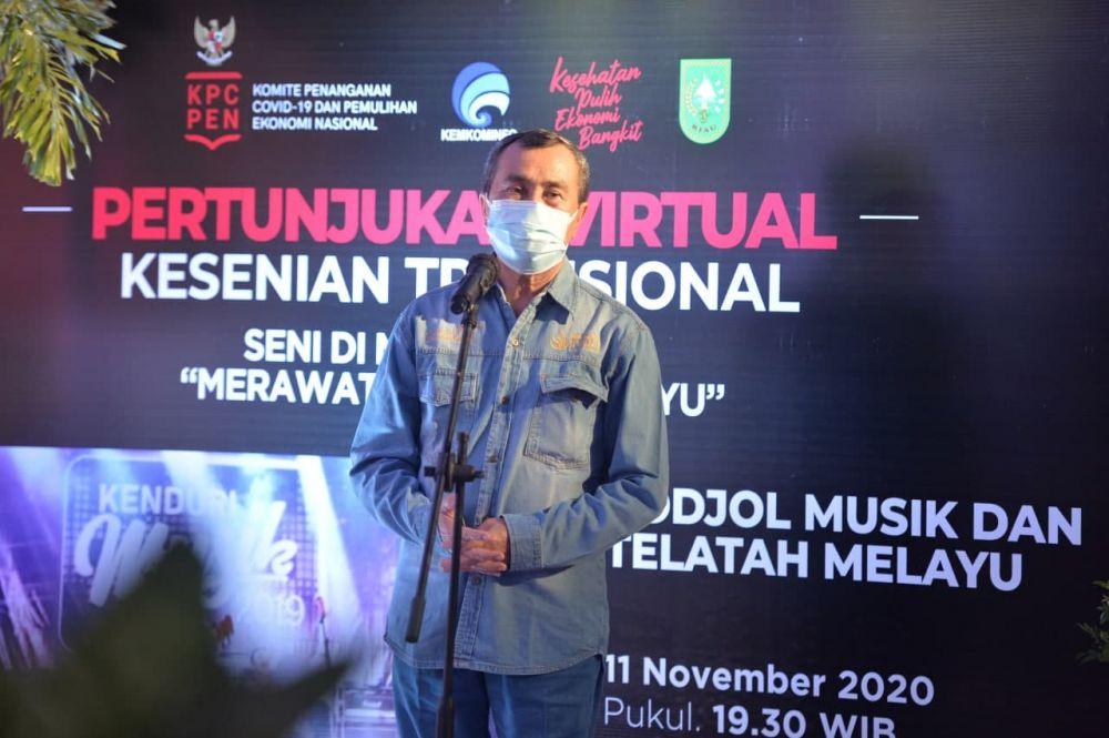Gubri: Tinggal Satu Zona Merah Covid-19 di Riau, Tetap Waspada