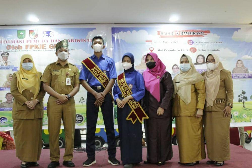 Hadiri Pekan Informasi Kepemudaan, Kadispora Riau Dukung Keberadaan Kelas Kominfo Riau