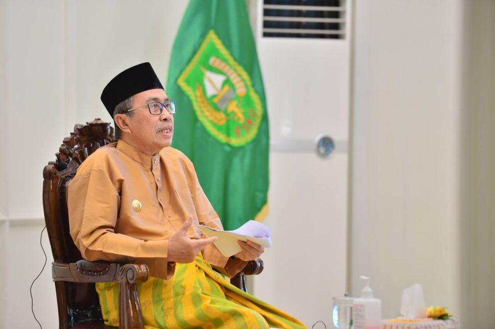 Hadiri Secara Virtual, Gubri Buka Forum Silaturahmi Saudagar Melayu