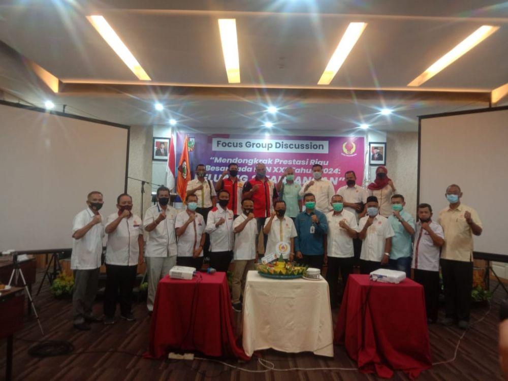 Hadiri Sempena HUT KONI ke 82, Kadispora Riau: Siap Bersinergi Dengan KONI