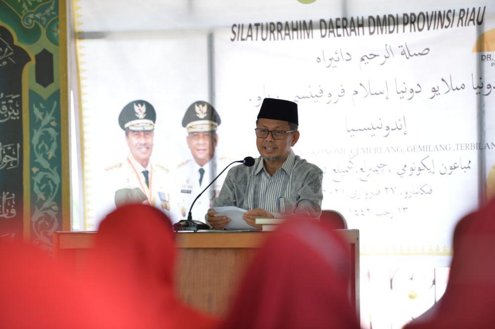 HUT Pertama, DMDI Riau Gelar Silaturahmi Bersama Plh Sekdaprov Riau