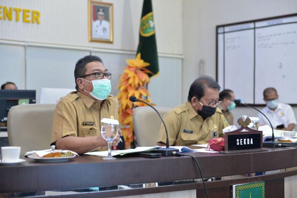 Ini 3 Inovasi Pelayanan Informasi Publik Pemprov Riau di Masa Pandemi