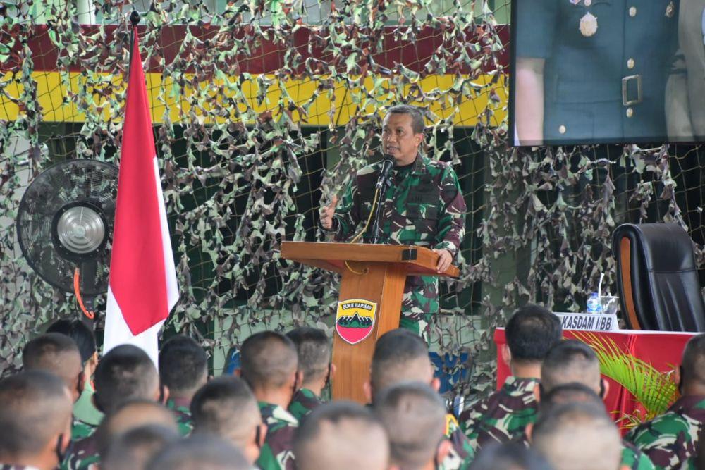 Ini Pesan Kasdam I/BB Kepada Prajurit Korem 031/WB di Riau