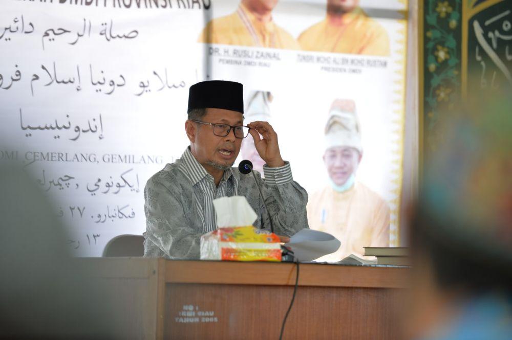 Ini Pesan Plh Sekdaprov Riau dalam HUT Pertama DMDI Riau