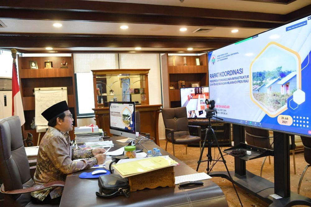 Ini Strategi Mendes PDTT Percepat Pembangunan di Riau