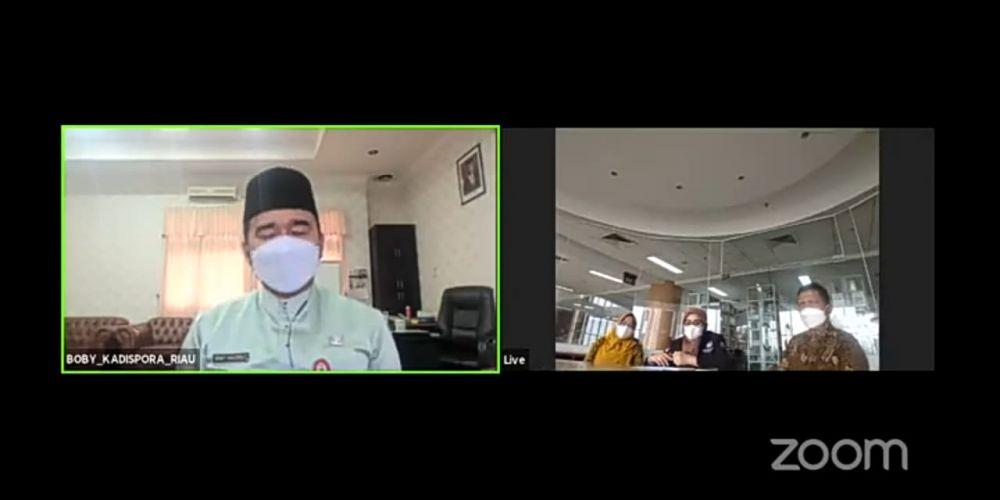 Jadi Pembicara Cegah Narkoba di Lingkungan Keluarga, Kadispora Riau Harap Pemberantasan Narkoba Bukan Hanya Teori