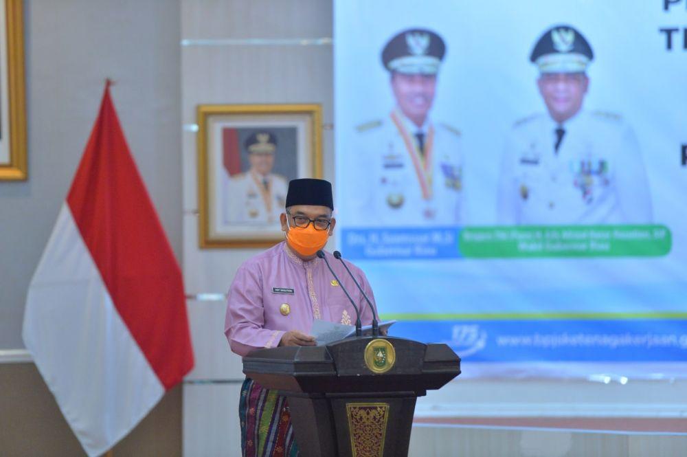 Jamin Keamanan Tenaga Kerja, Seluruh THL Pemprov Riau Diikutsertakan Jadi Peserta BPJS Ketenagakerjaan