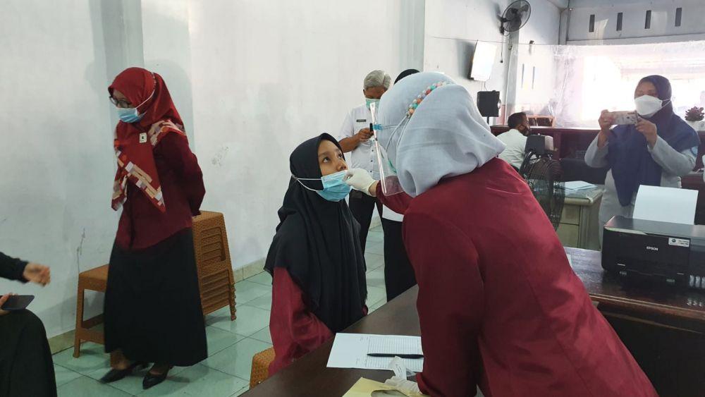 Jasa Raharja Riau Berikan Layanan Rapid Test Antigen Gratis di Samsat Panam