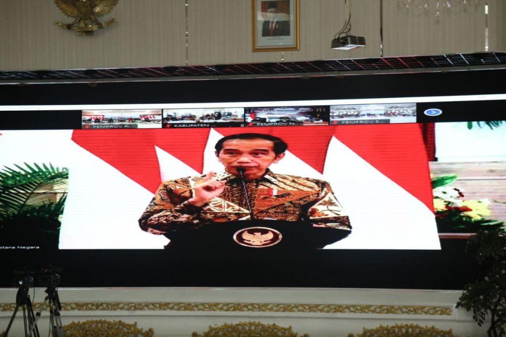 Jokowi Ingatkan Daerah Rawan Karhutla Untuk Waspada