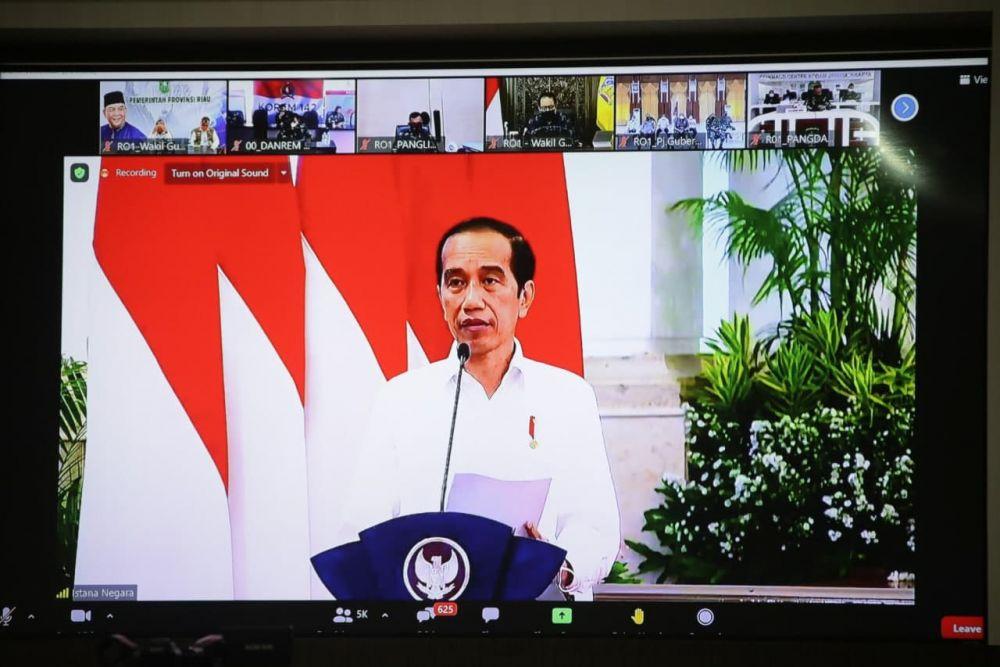 Jokowi Minta Covid-19 Jadi Momentum Perkokoh Ketanggungan Hadapi Bencana