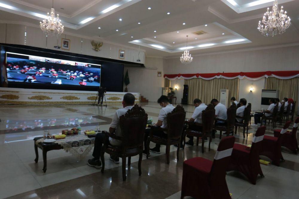 Jokowi Minta Sistem Pembinaan Atlet Nasional Direview Total