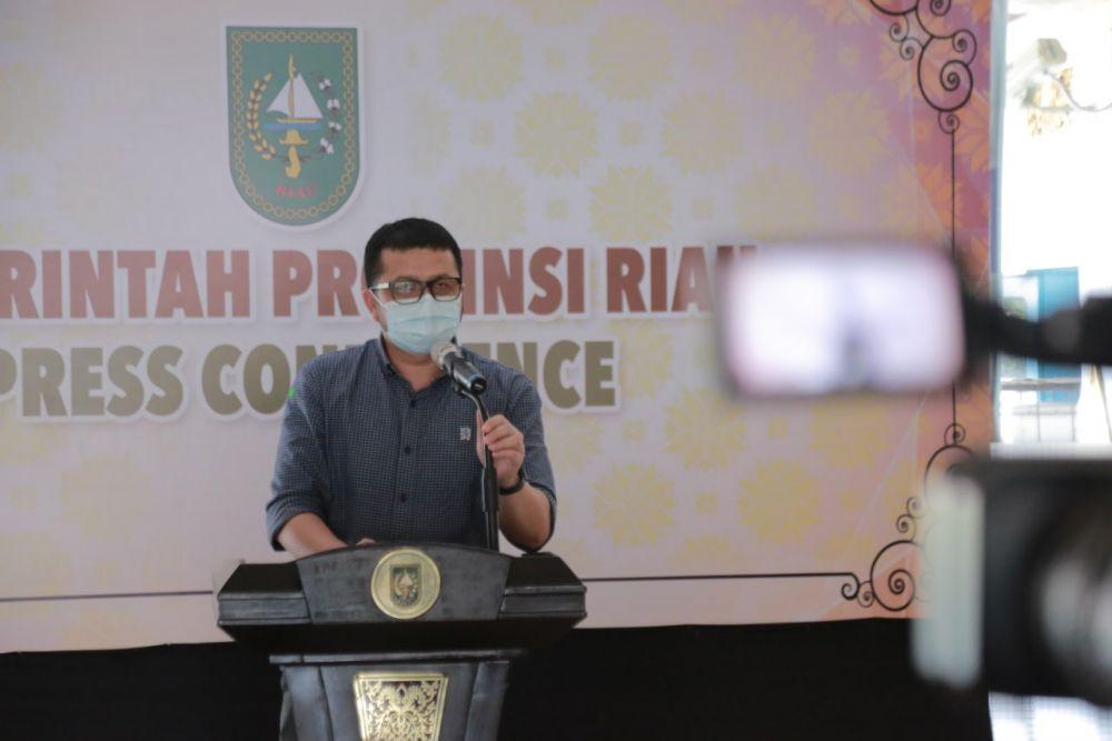 Jubir Covid-19 Riau: Setiap 100 Kasus Covid-19, 20% Dipastikan Dirawat di RS