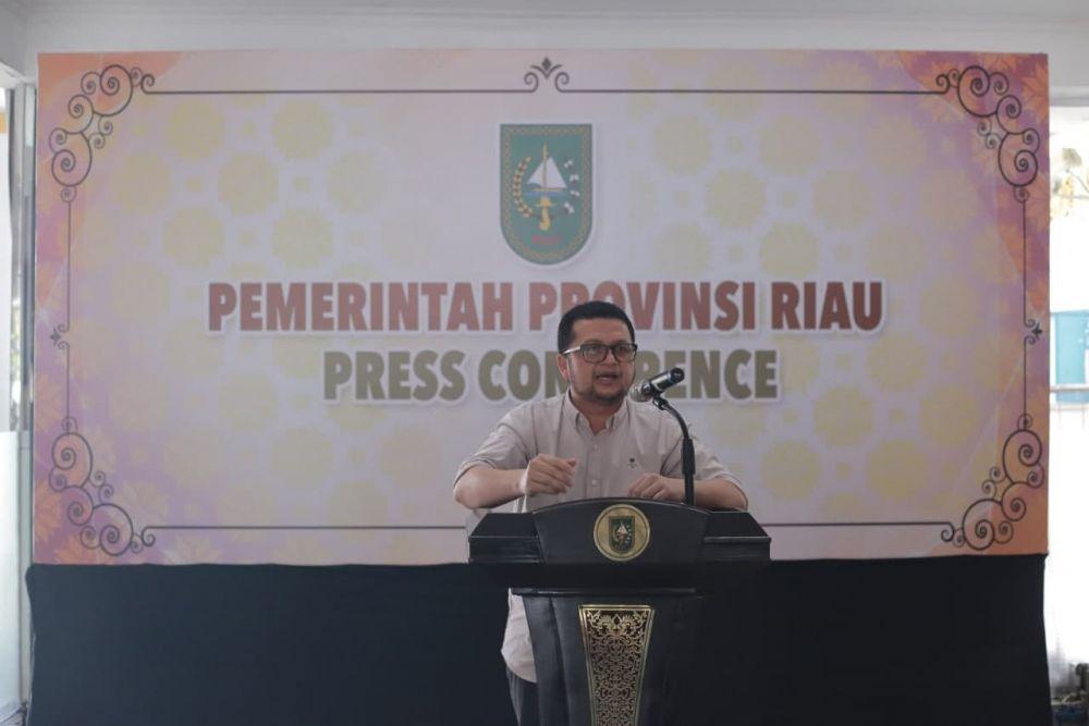 Jubir Satgas COVID-19 Riau Kembali Imbau Pelaksanaan Vaksinasi Agar Patuhi Prokes