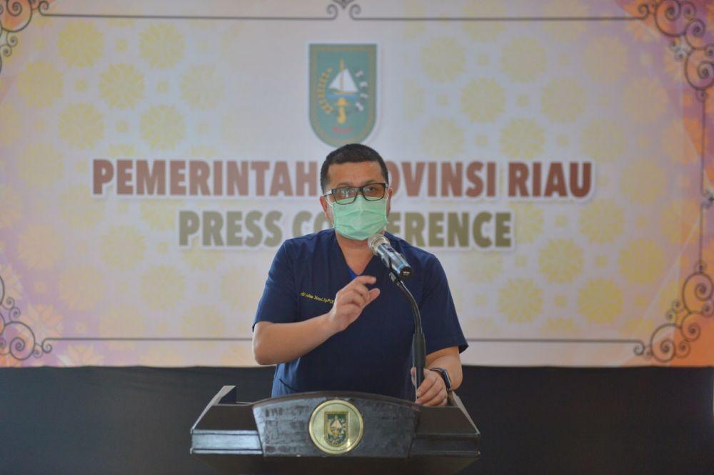Kabupaten/Kota Didorong Lebih Aktif untuk Minta Vaksin ke Provinsi Riau