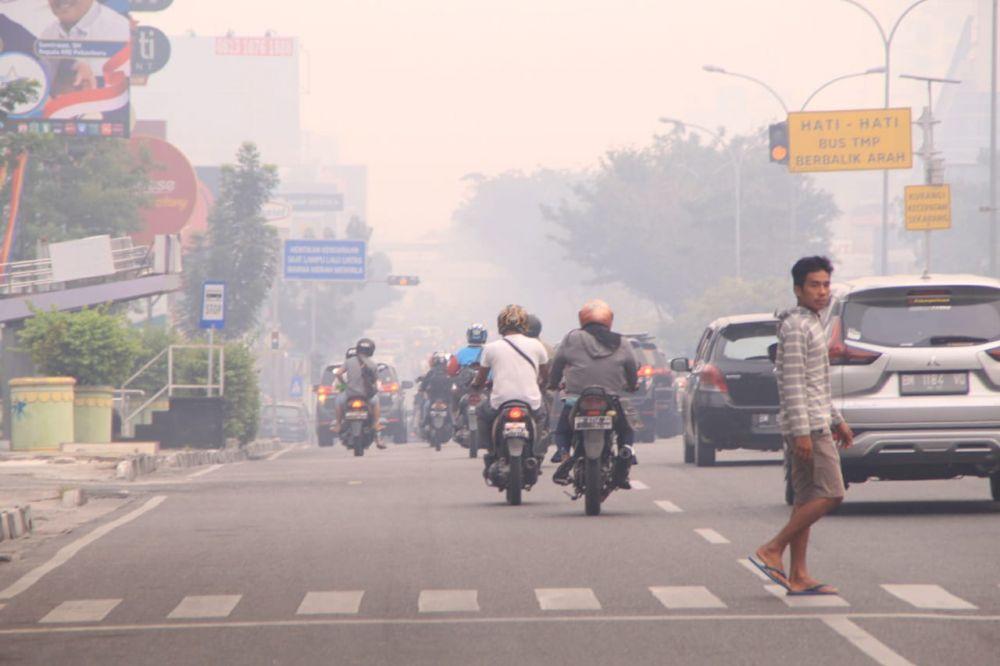 Mediacenterriaugoid Kualitas Udara Tidak Sehat Pemko