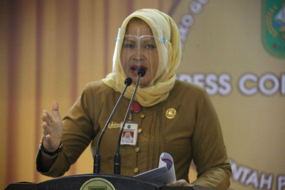 Kadis Dispersip Riau Targetkan Satu Desa Satu Perpustakaan