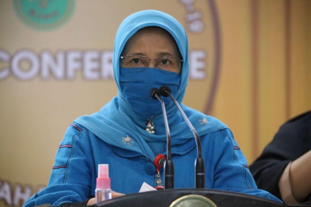 Kadiskes Riau: Alhamdulillah Kasus Positif Corona Turun Drastis, Tetap Waspada!